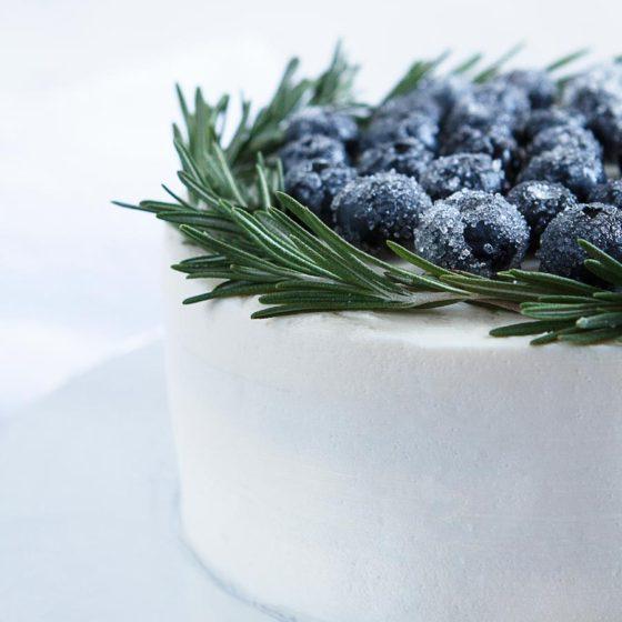 Начинки зимнего свадебного торта