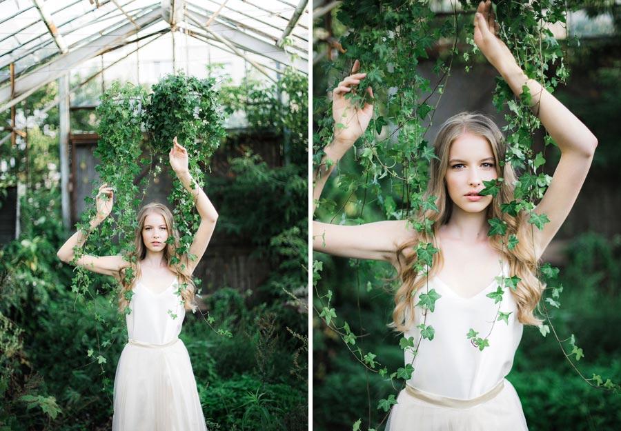 фотосессия зеленый сад 1