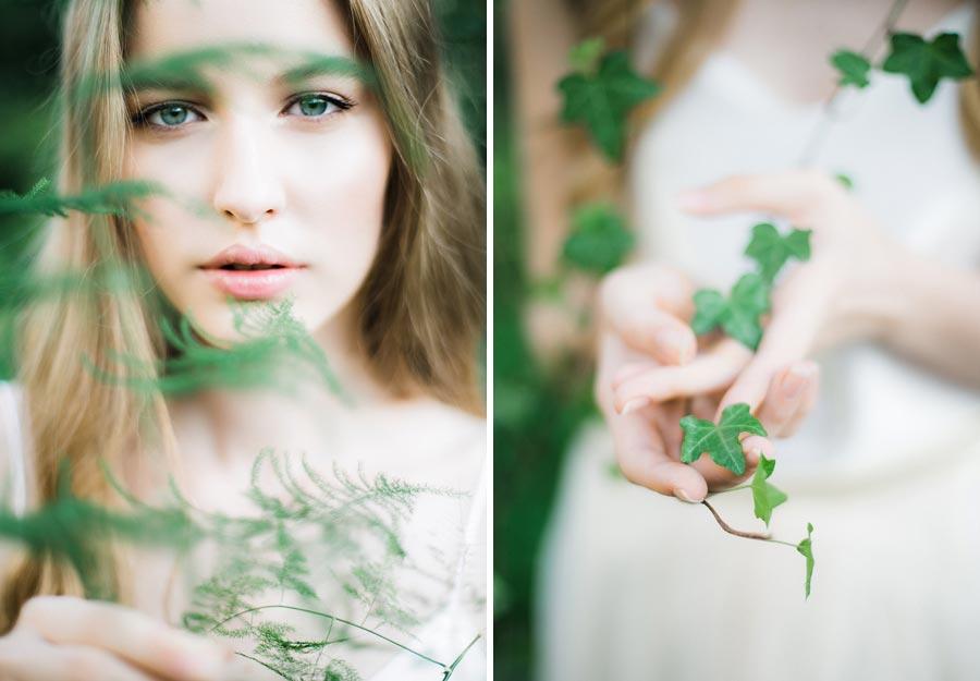 фотосессия зеленый сад 2