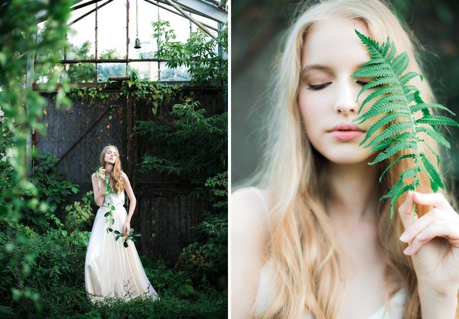 фотосессия зеленый сад 3