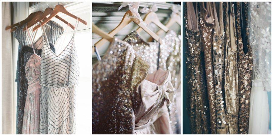 золото и другие металлы в оформлении свадьбы 7