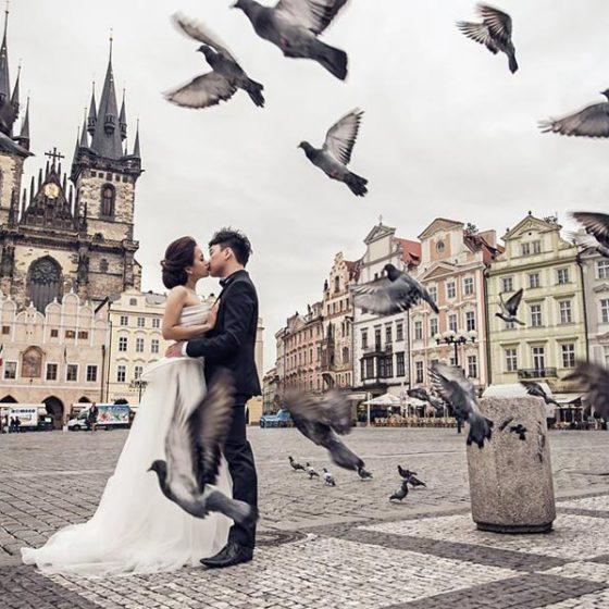 8 мест для свадьбы в Праге
