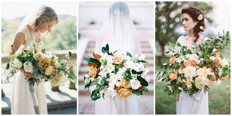 большой букет невесты 11