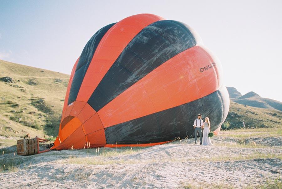 на воздушном шаре 1