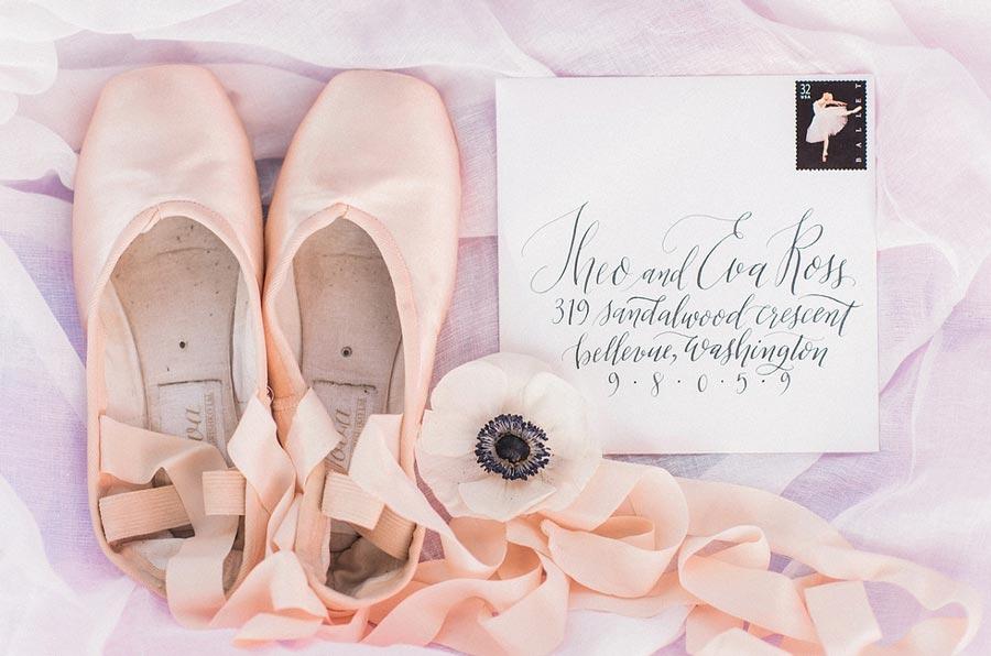 нежная свадьба для влюбленных в балет 11