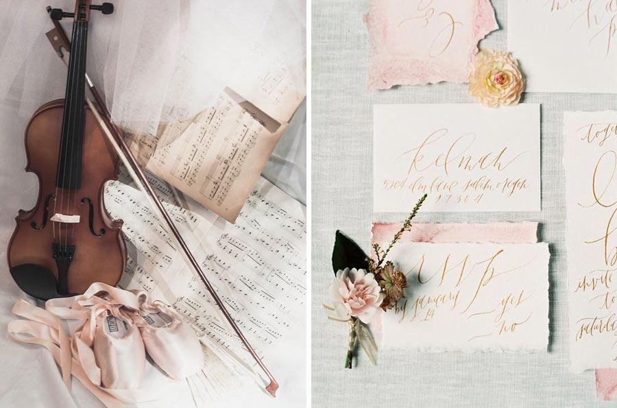 нежная свадьба для влюбленных в балет 13
