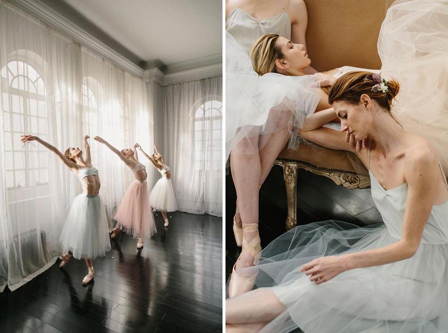нежная свадьба для влюбленных в балет 17