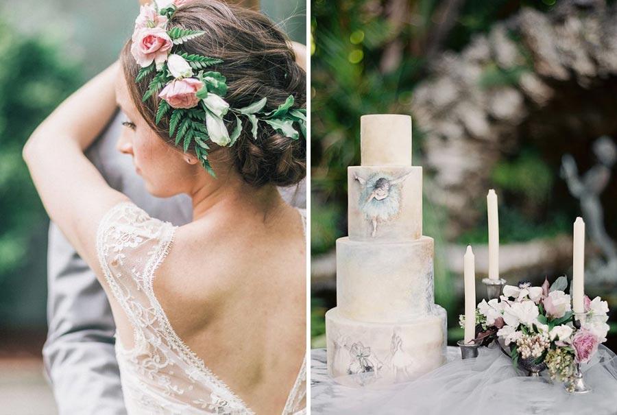 нежная свадьба для влюбленных в балет 18