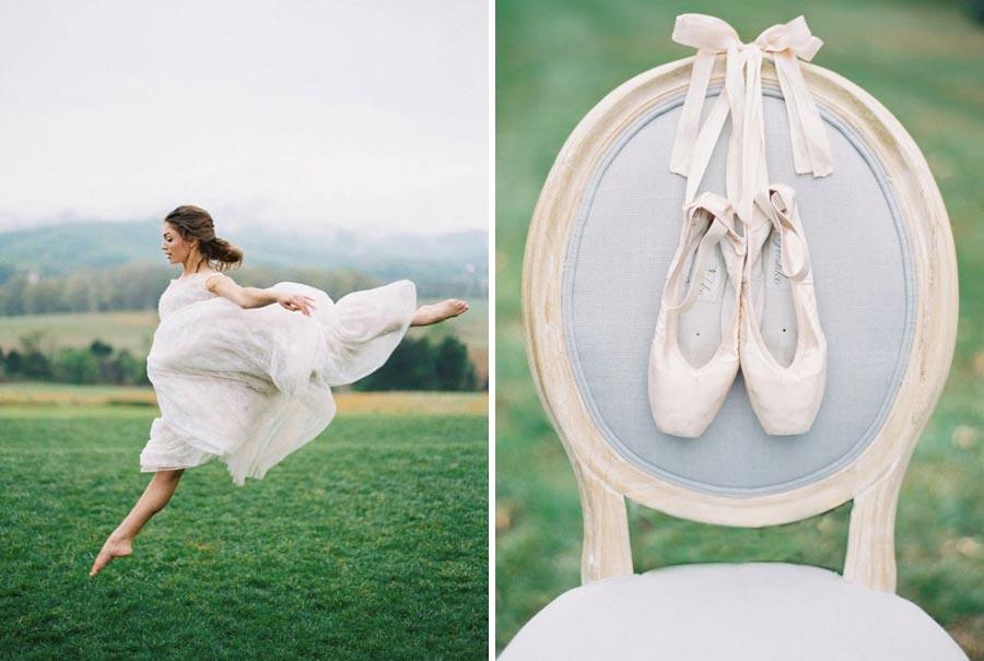 нежная свадьба для влюбленных в балет 5