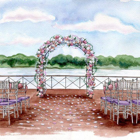 Как смотреть на свадебные эскизы