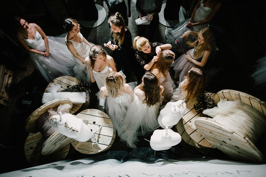 показ коллекции vesssna wedding 17