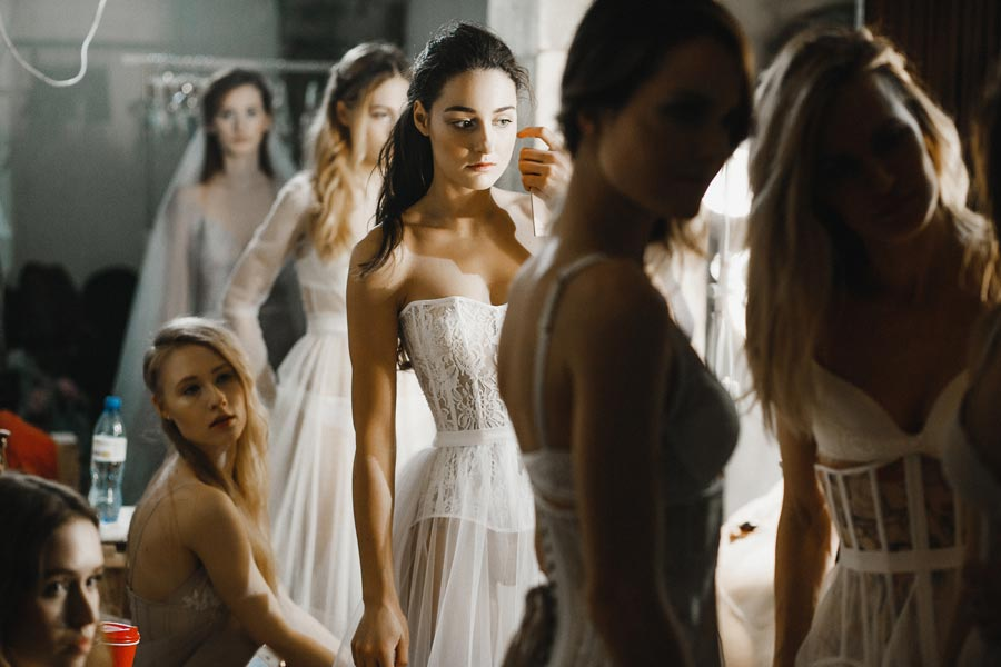 показ коллекции vesssna wedding 18