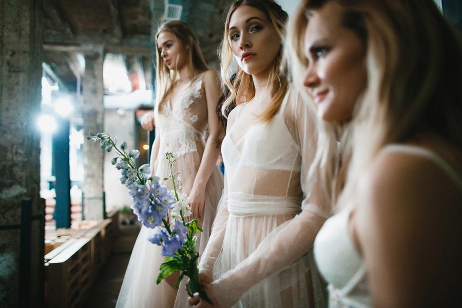 показ коллекции vesssna wedding 3