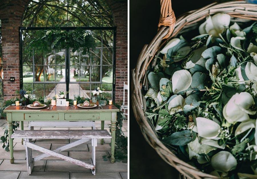 свадьба в стиле ботаник 9