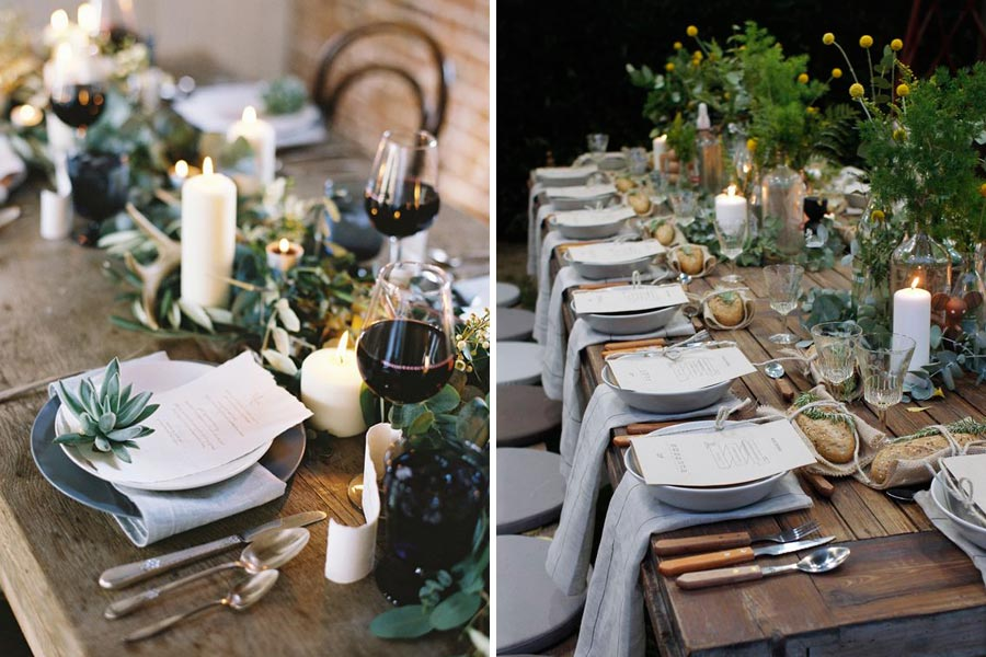 свадьба в стиле ботаник 10