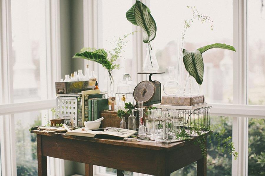 свадьба в стиле ботаник 12