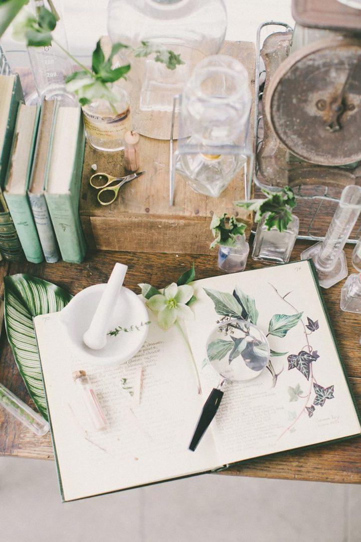 свадьба в стиле ботаник 14