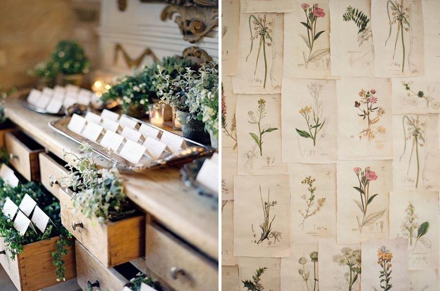 свадьба в стиле ботаник 15