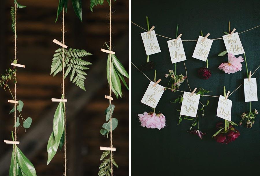 свадьба в стиле ботаник 16
