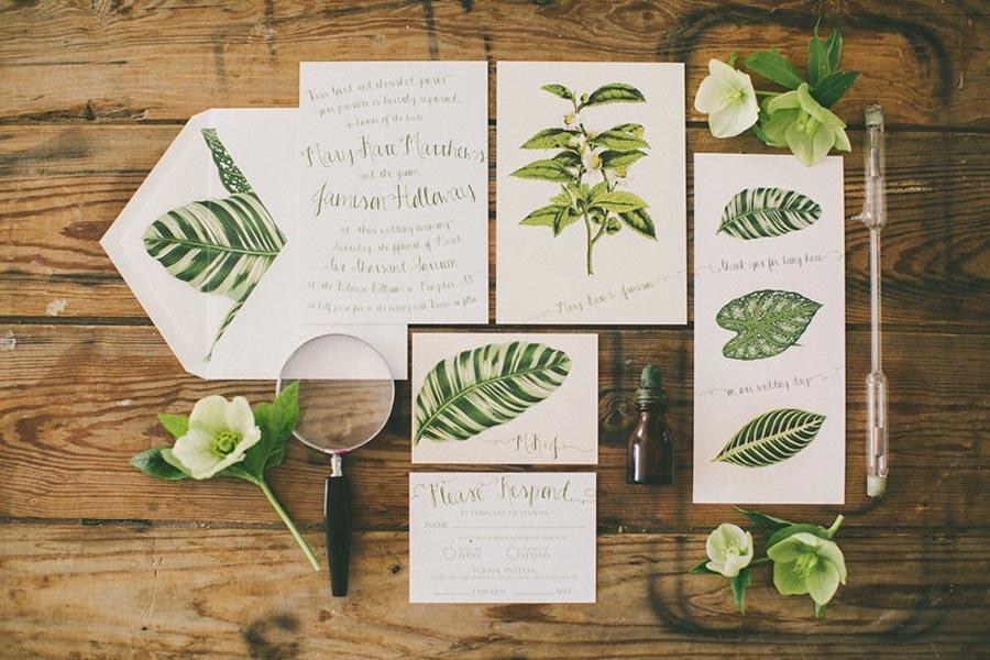 свадьба в стиле ботаник 23