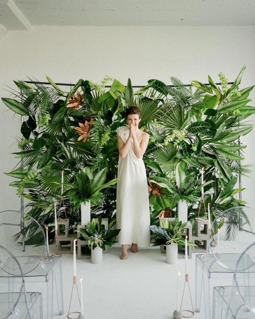 свадьба в стиле ботаник 29