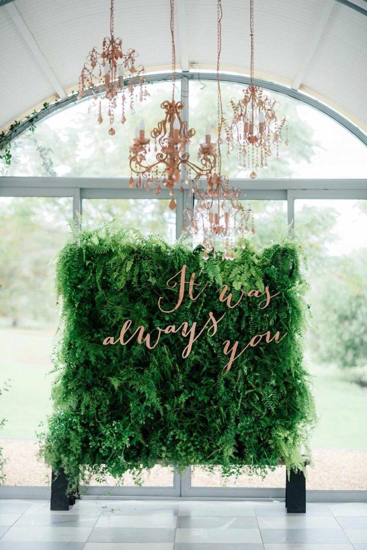 свадьба в стиле ботаник 30
