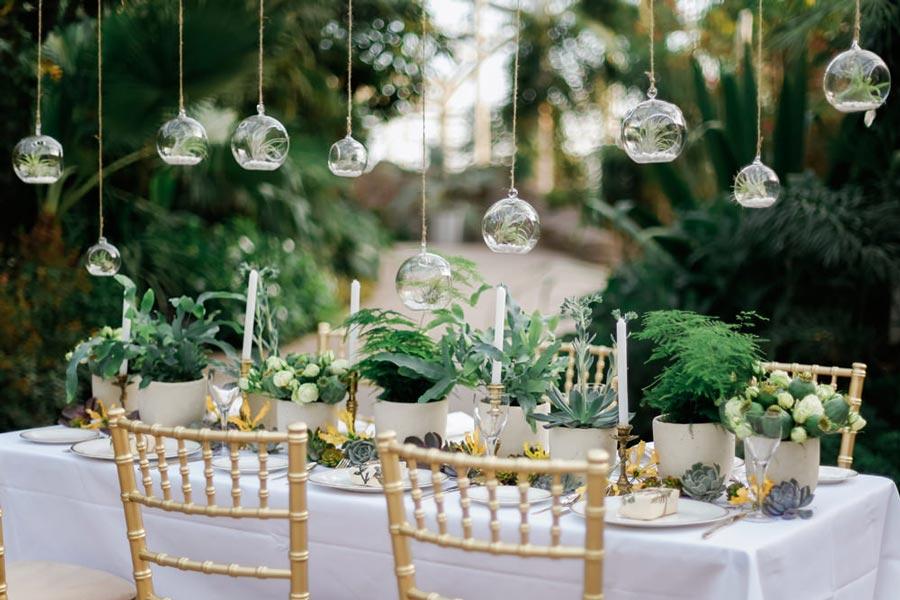 свадьба в стиле ботаник 5