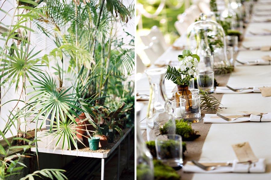 свадьба в стиле ботаник 7
