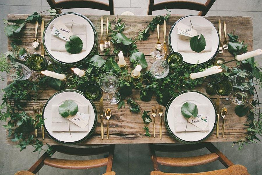 свадьба в стиле ботаник 8
