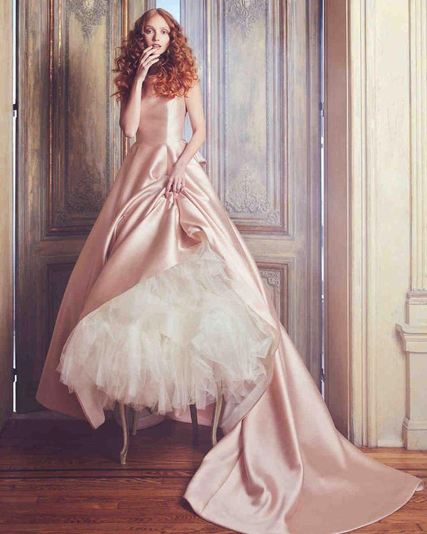 самые красивые свадебные платья 2018 1