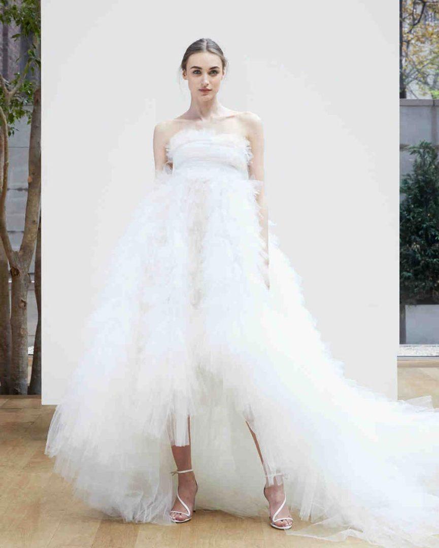 самые красивые свадебные платья 2018 10