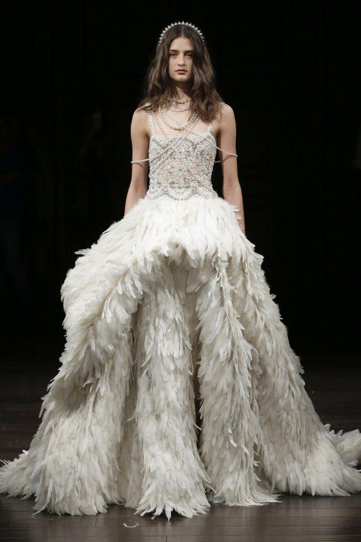 самые красивые свадебные платья 2018 11