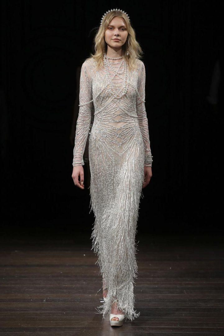 самые красивые свадебные платья 2018 12