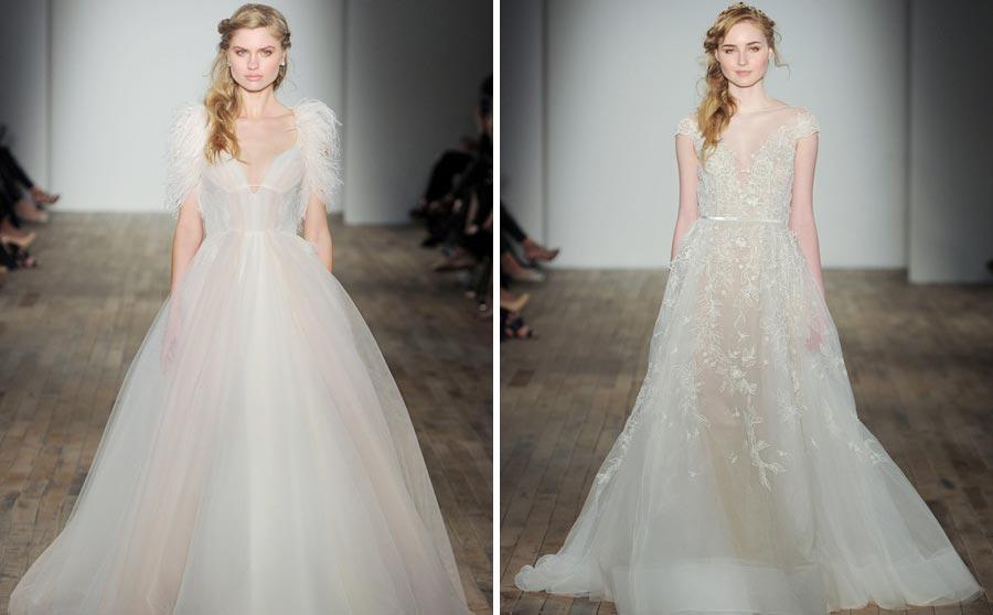 самые красивые свадебные платья 2018 18