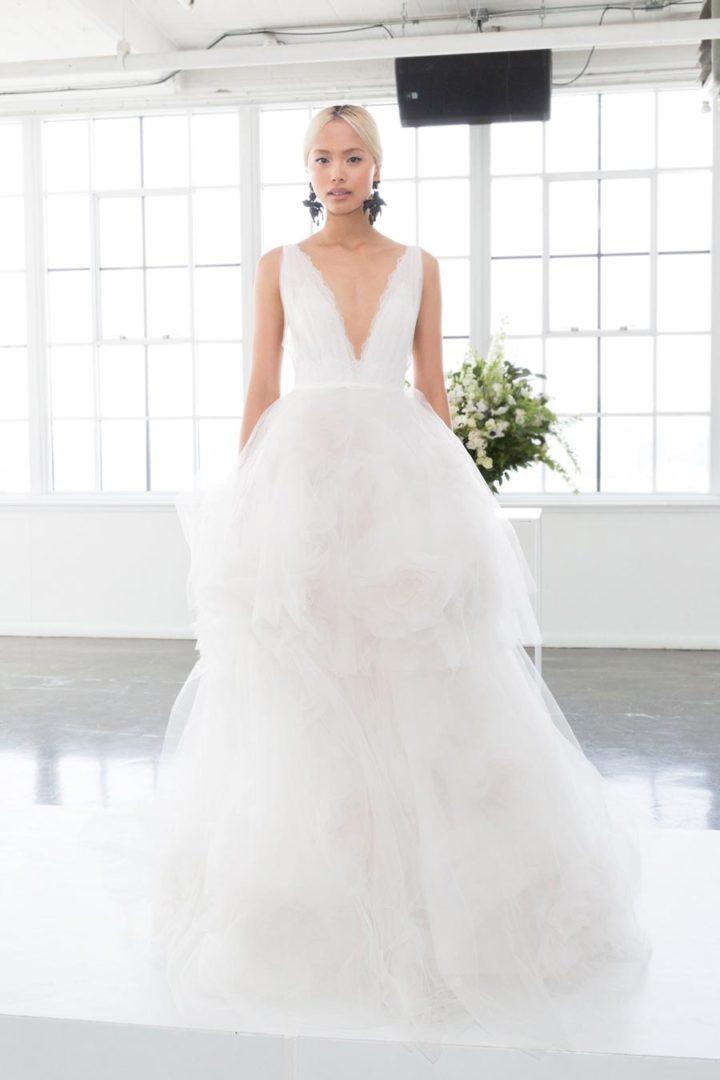 самые красивые свадебные платья 2018 2