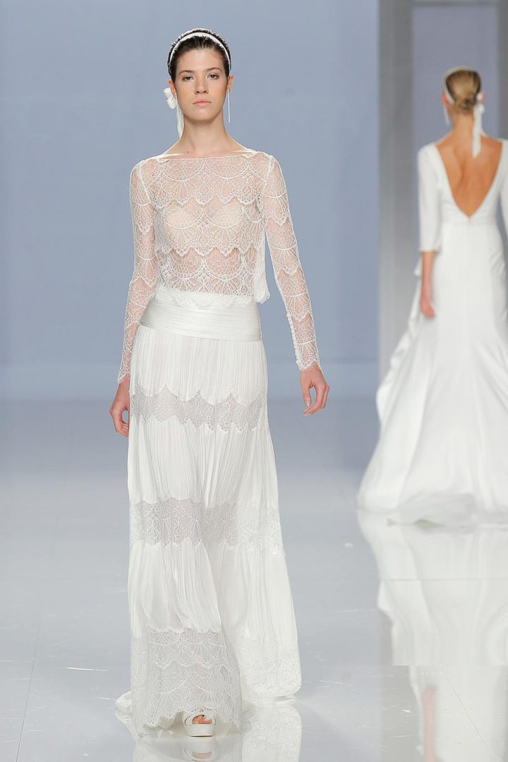самые красивые свадебные платья 2018 21