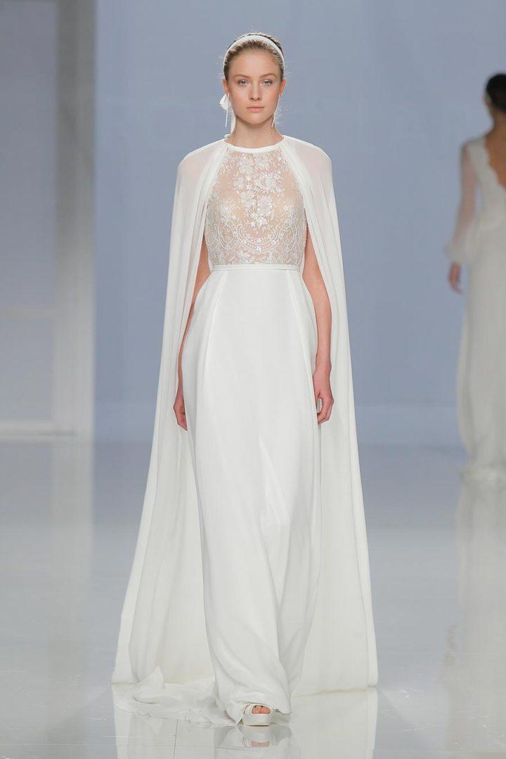 самые красивые свадебные платья 2018 22