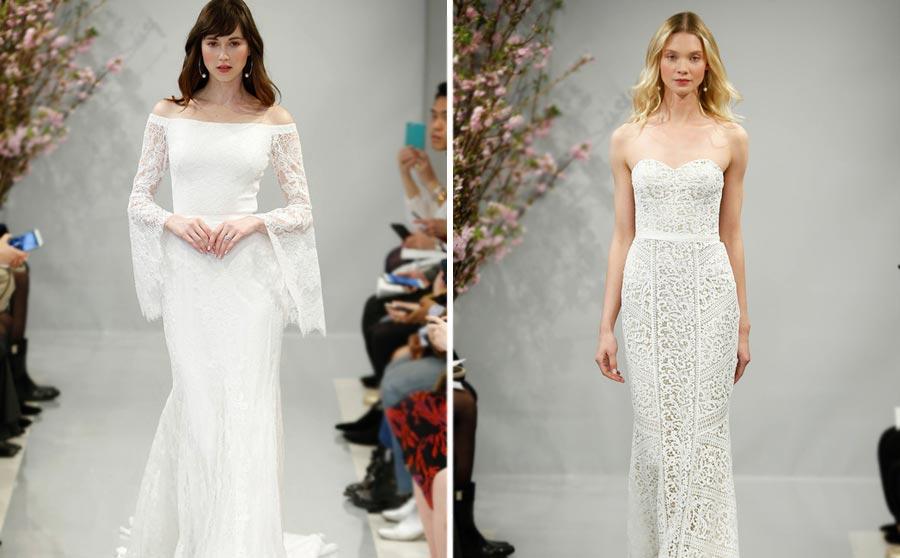 самые красивые свадебные платья 2018 25