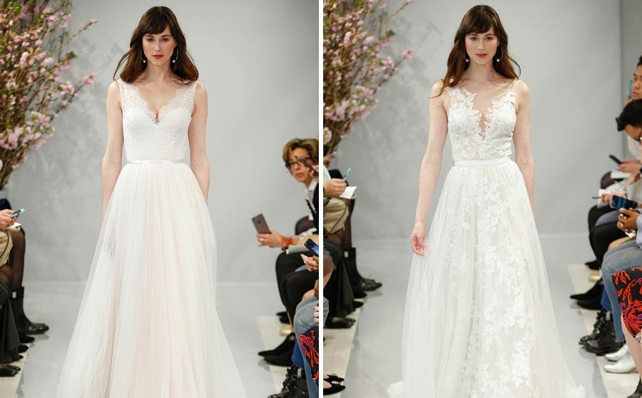 самые красивые свадебные платья 2018 26