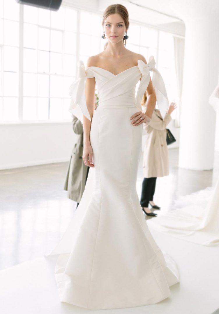 самые красивые свадебные платья 2018 28