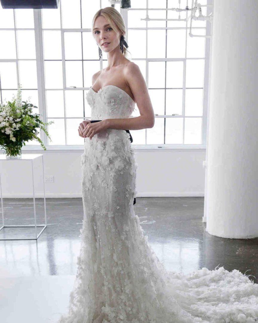 самые красивые свадебные платья 2018 30