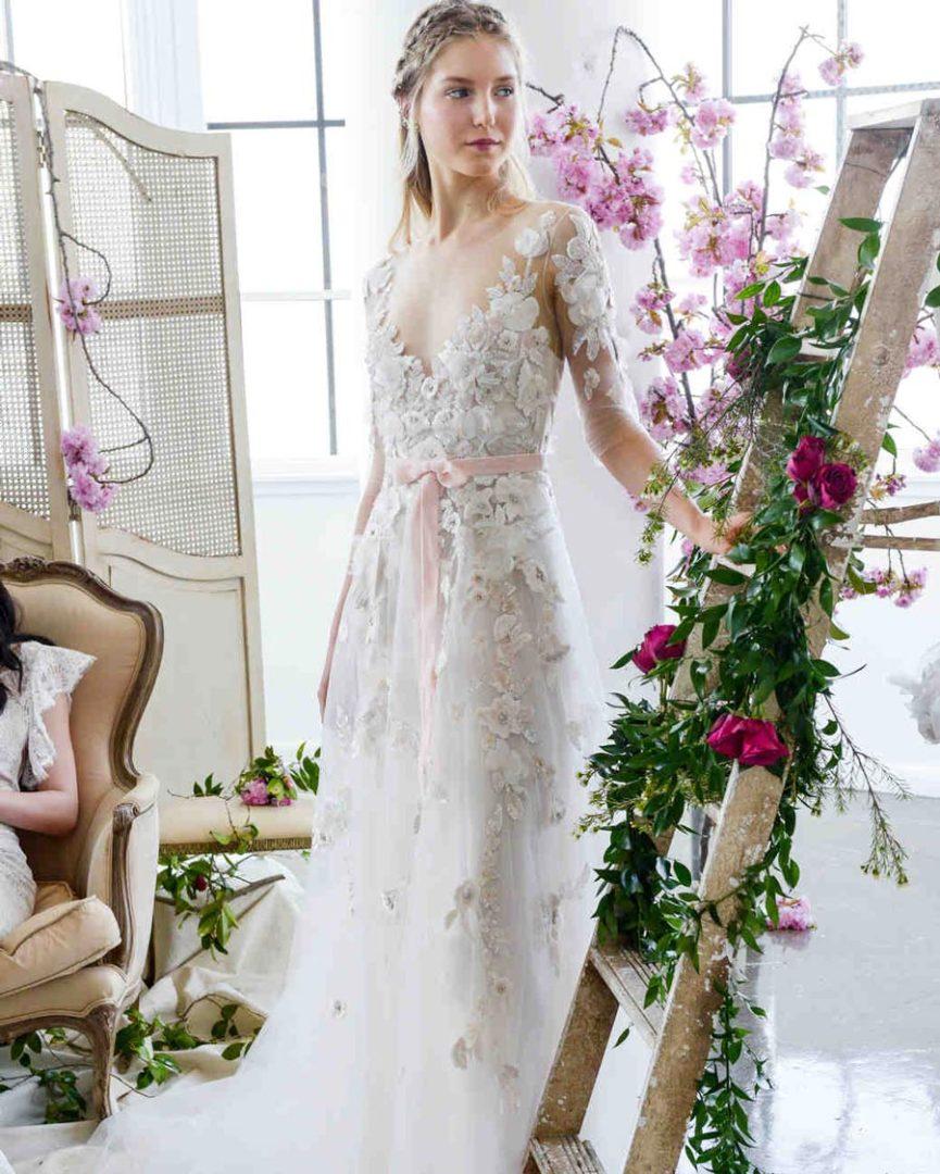 самые красивые свадебные платья 2018 31