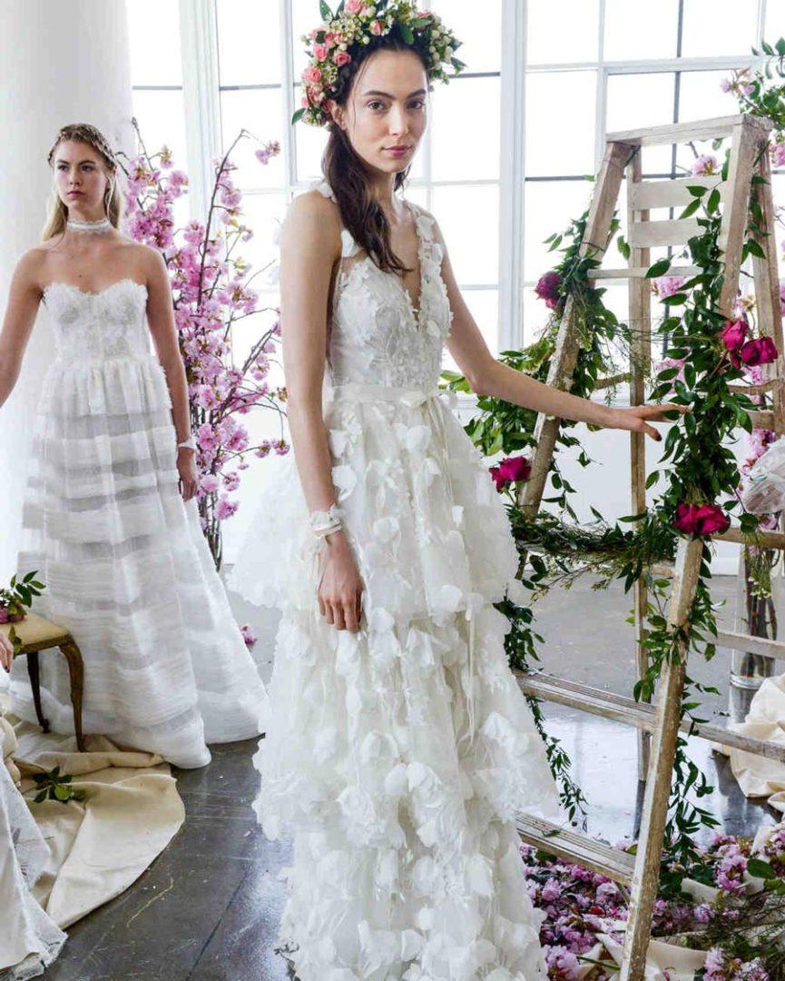 самые красивые свадебные платья 2018 32