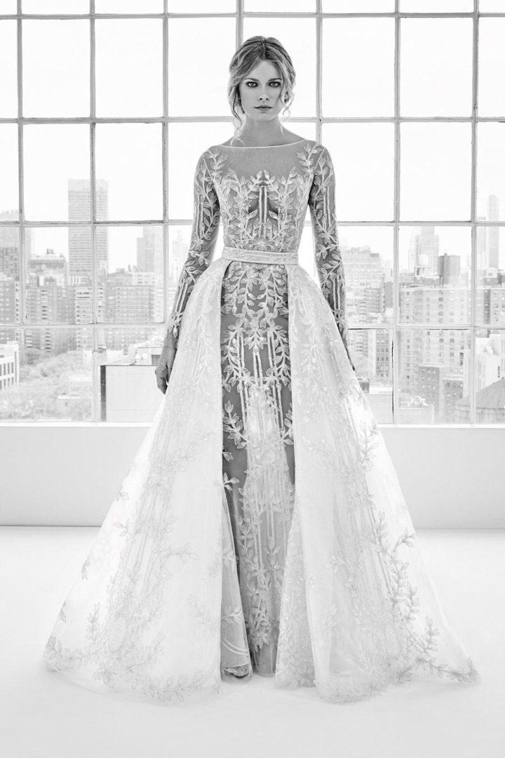 самые красивые свадебные платья 2018 33