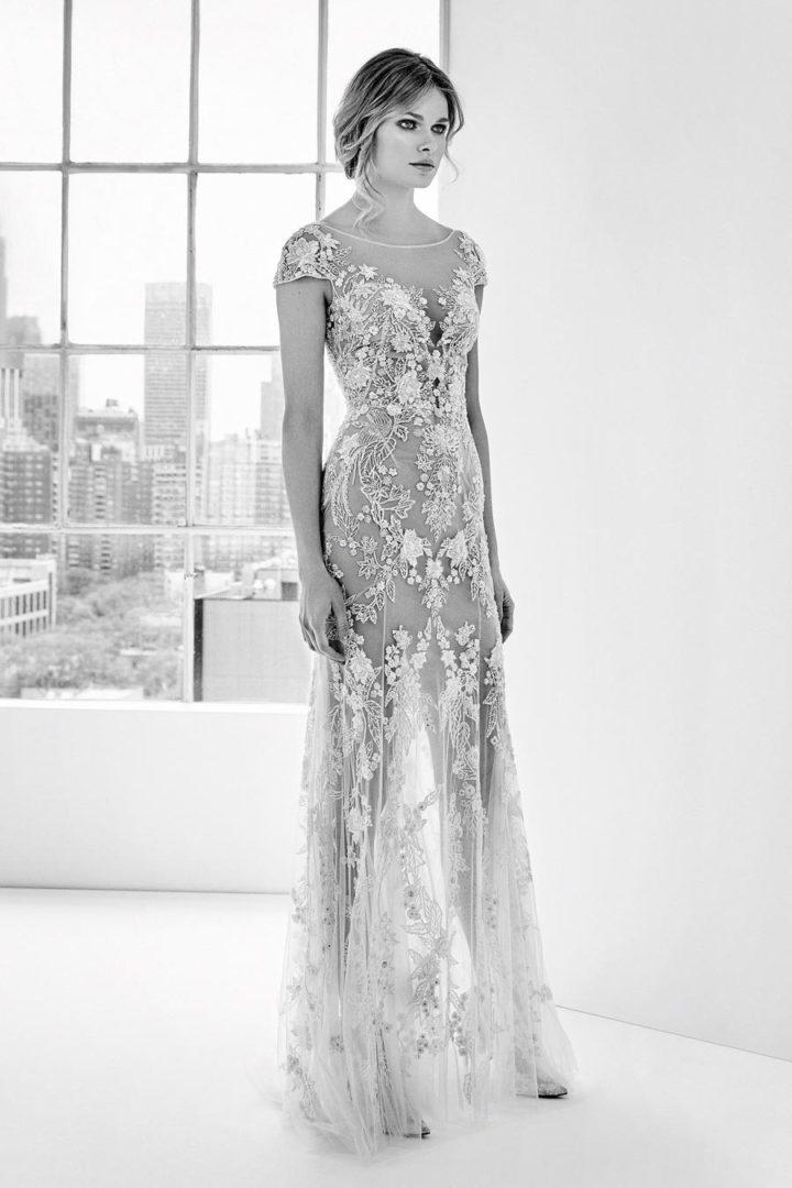 самые красивые свадебные платья 2018 34