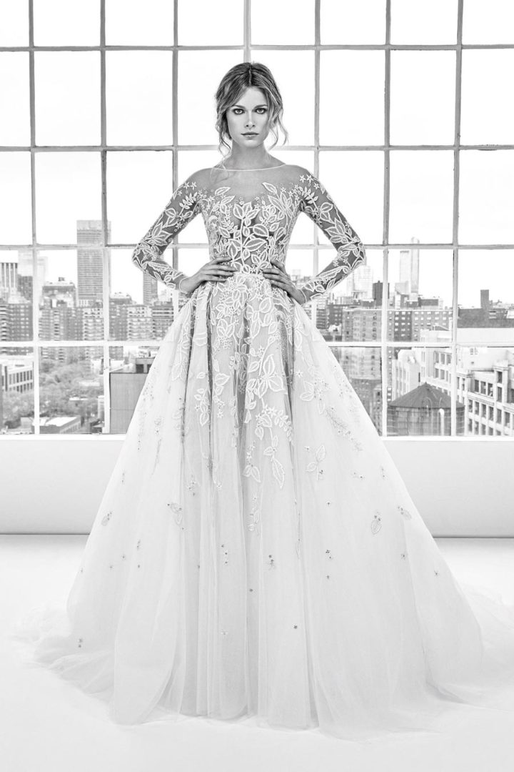 самые красивые свадебные платья 2018 35