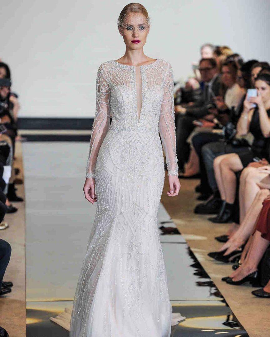 самые красивые свадебные платья 2018 37