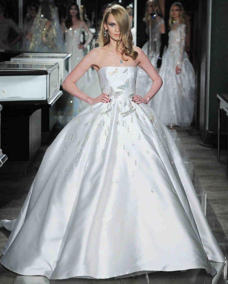 самые красивые свадебные платья 2018 38