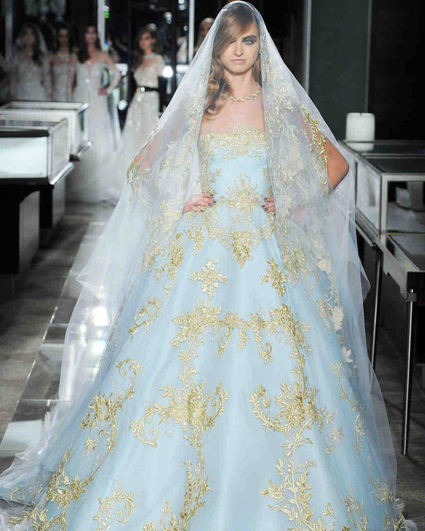 самые красивые свадебные платья 2018 39