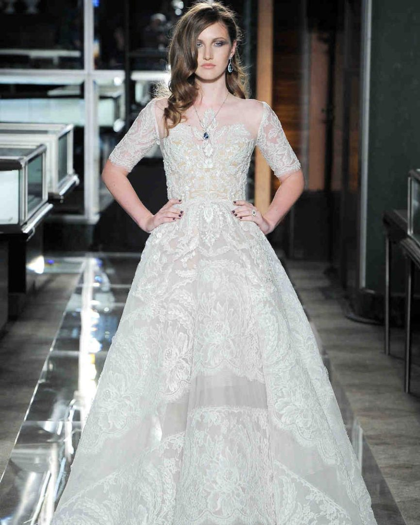 самые красивые свадебные платья 2018 40